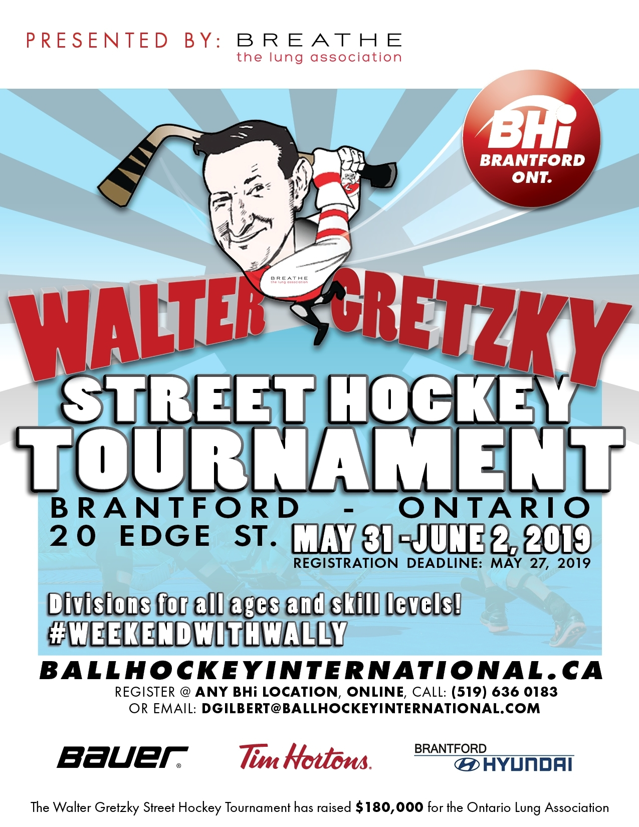 2019 Walter Gretzky Street Hockey Tournament Bhi Tournaments