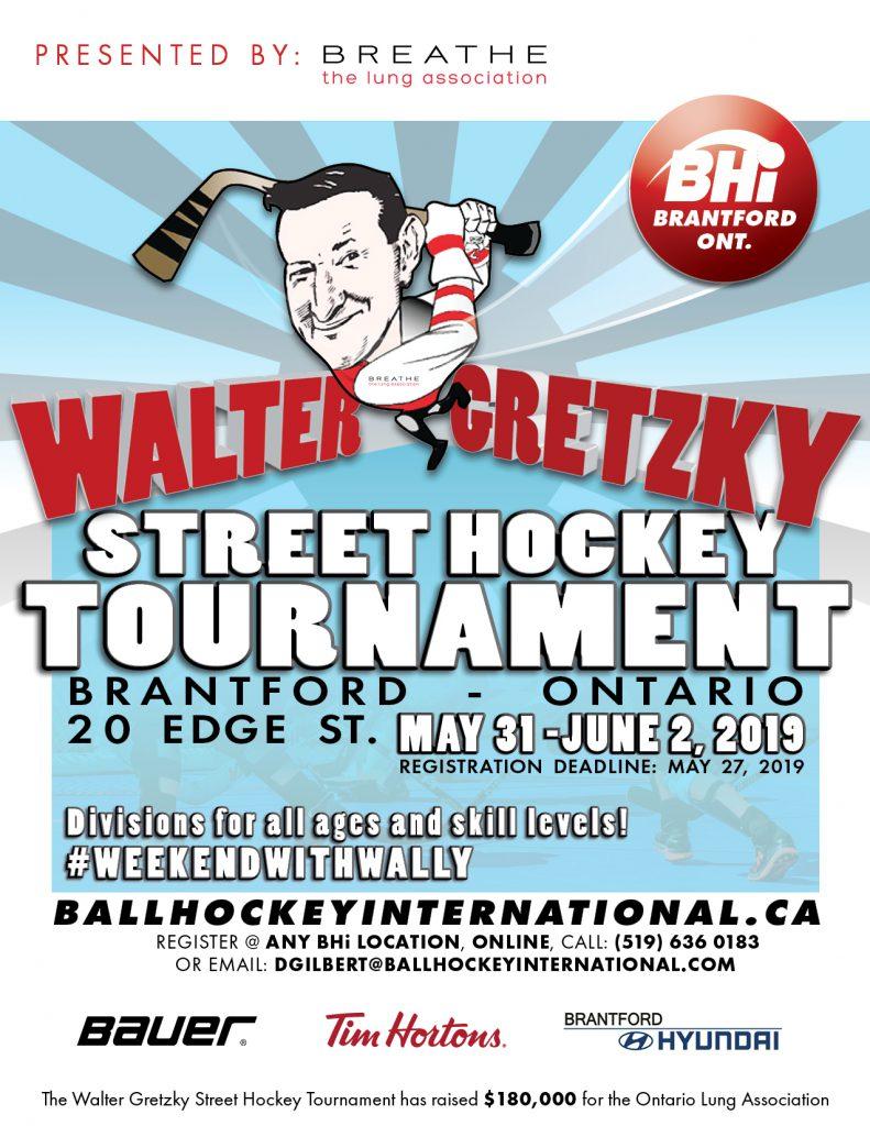 2019 Walter Gretzky Street Hockey Tournament