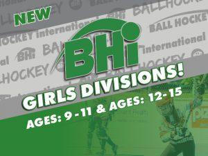 girls ball hockey leagues announcement